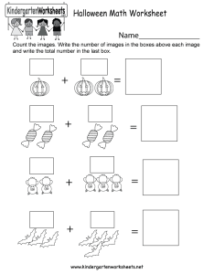 free halloween math worksheets for kindergarten  kindergarten halloween math worksheet printable also free holiday for kids  rh kindergartenworksheets