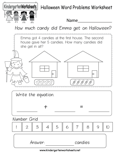 small resolution of kindergarten word problems worksheets