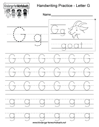 worksheet. Letter G Worksheets For Kindergarten. Worksheet