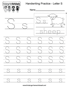 Letter  writing practice worksheet free kindergarten english also sheet koni polycode rh