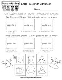 Shape Recognition Worksheet - Free Kindergarten Geometry ...