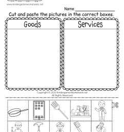 30 Goods And Services Worksheet Pdf - Worksheet Project List [ 1035 x 800 Pixel ]