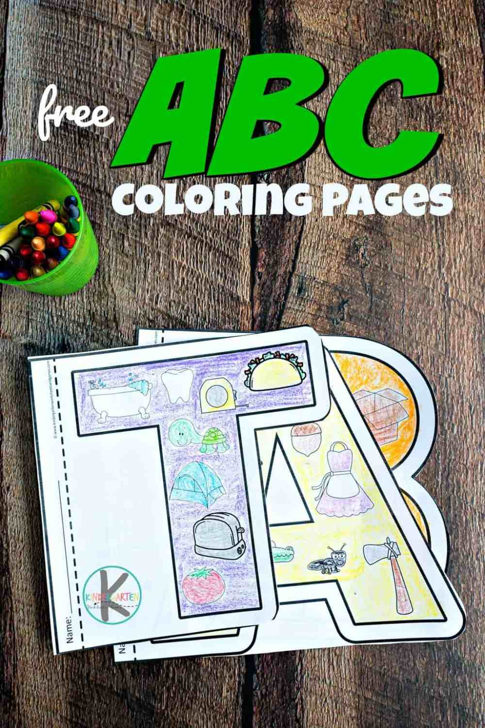 medium resolution of FREE Alphabet Coloring Pages