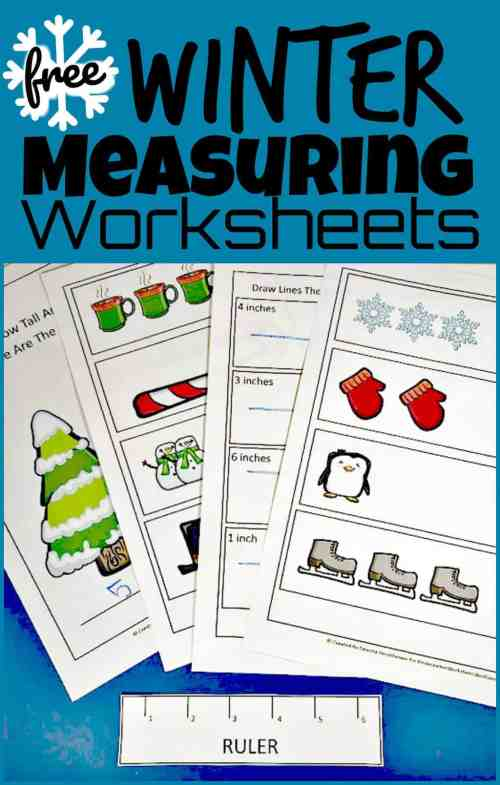 small resolution of FREE Winter Ruler Measurements Worksheets