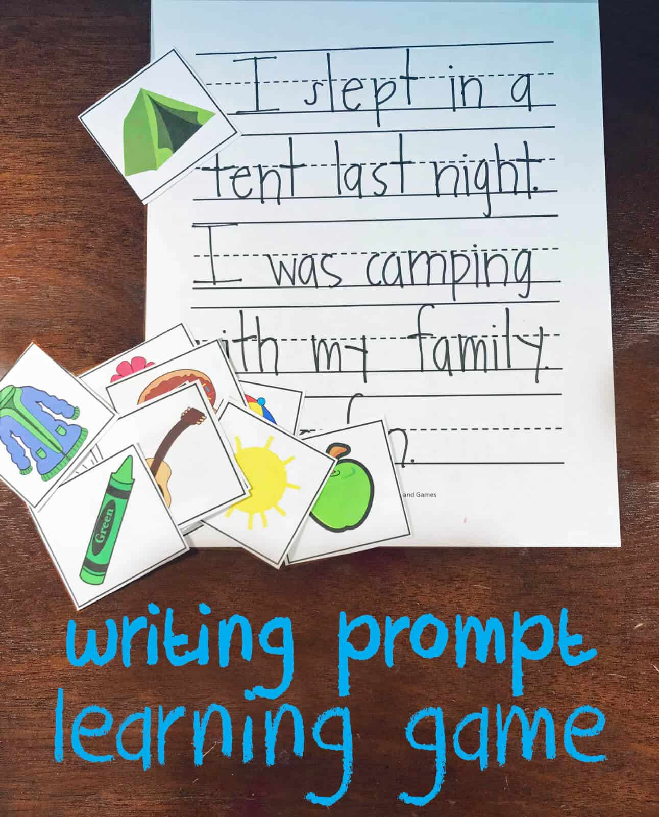 First Grade Creative Writing Worksheet