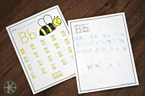 small resolution of FREE A to Z Worksheets for Kindergarten