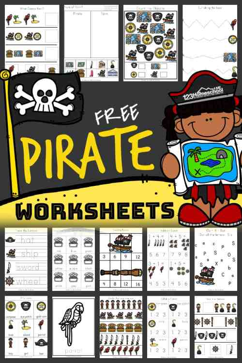 small resolution of FREE Printable PIRATE Worksheets