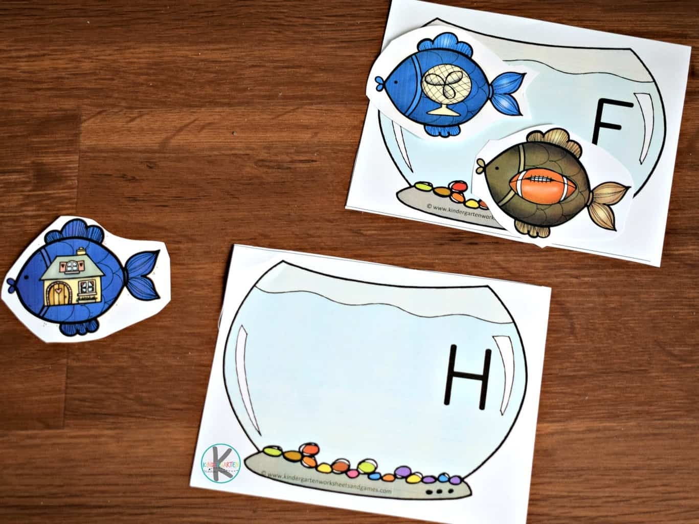 Free Fish Phonics Activity