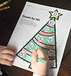 FREE Christmas Skip Counting Worksheets [ 3344 x 5016 Pixel ]