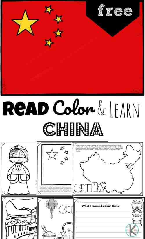 small resolution of Read Color and Learn about CHINA
