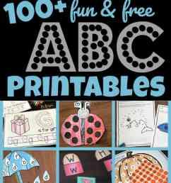 100+ FREE Alphabet Printables [ 1853 x 1024 Pixel ]