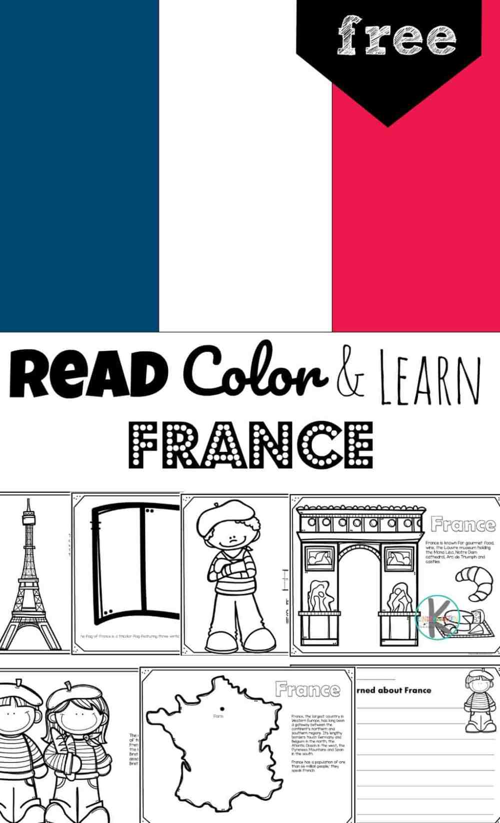 medium resolution of FREE France Coloring Pages to Read