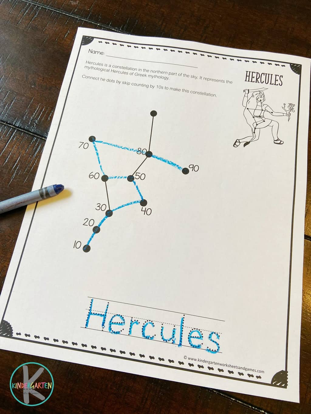 hight resolution of FREE Skip Counting Constellations Worksheets