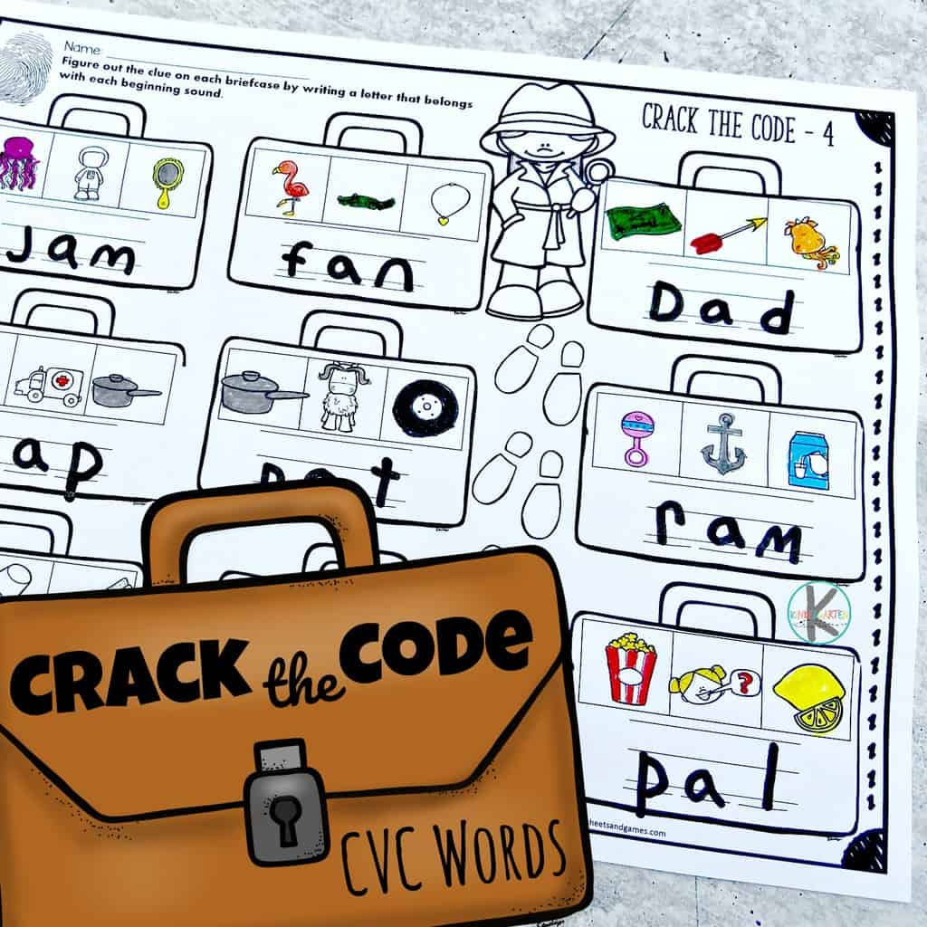 Free Crack The Code Worksheets