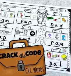 FREE Crack the Code Worksheets [ 1024 x 1024 Pixel ]