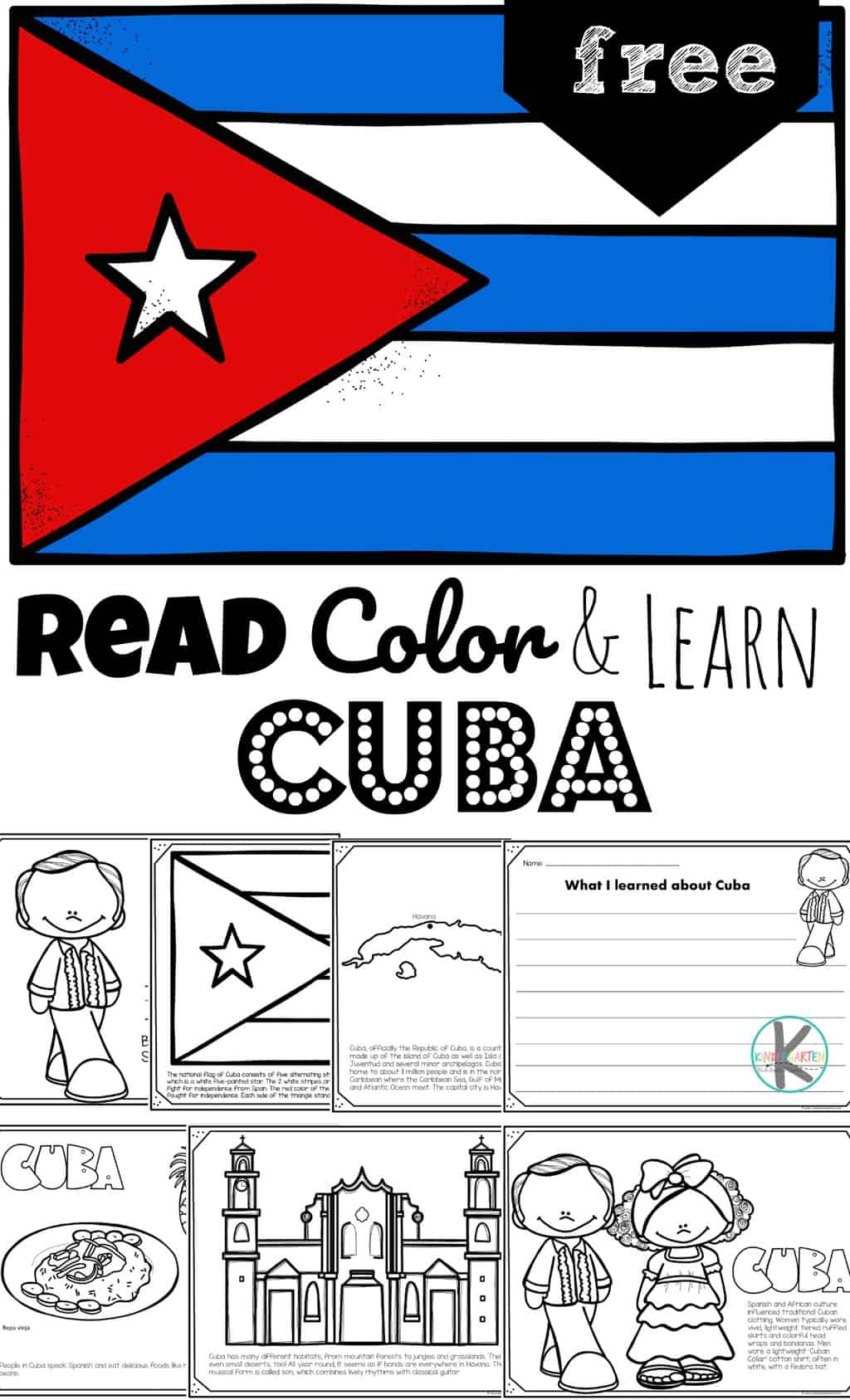 hight resolution of FREE Read Color and Learn about CUBA