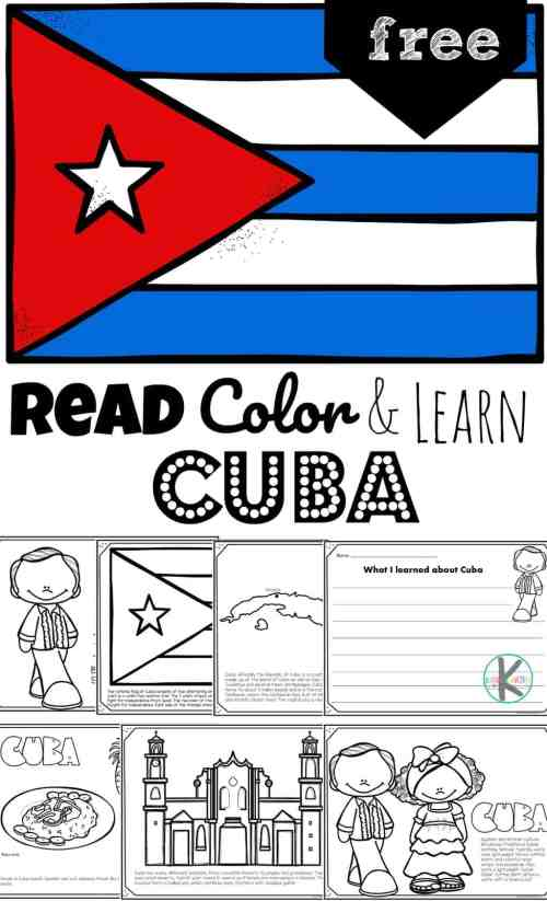 small resolution of FREE Read Color and Learn about CUBA