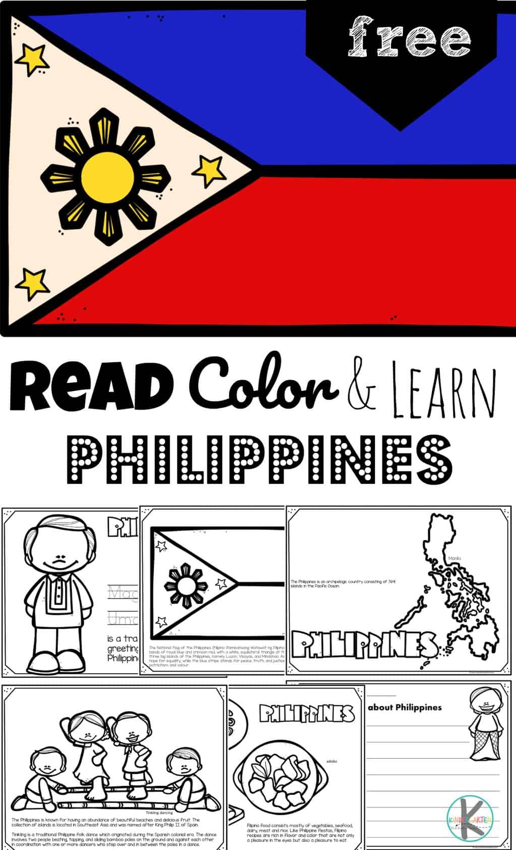 Free Read Color And Learn About The Philippines