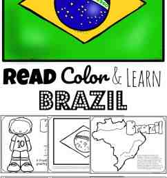 FREE Read Color and Learn about BRAZIL [ 1687 x 1024 Pixel ]