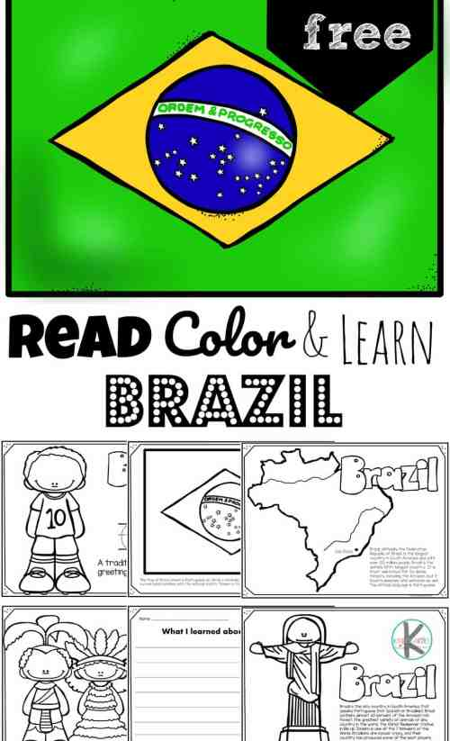small resolution of FREE Read Color and Learn about BRAZIL