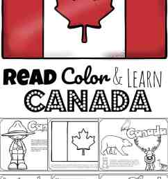 FREE Read Color and Learn about CANADA for Kids [ 1687 x 1024 Pixel ]