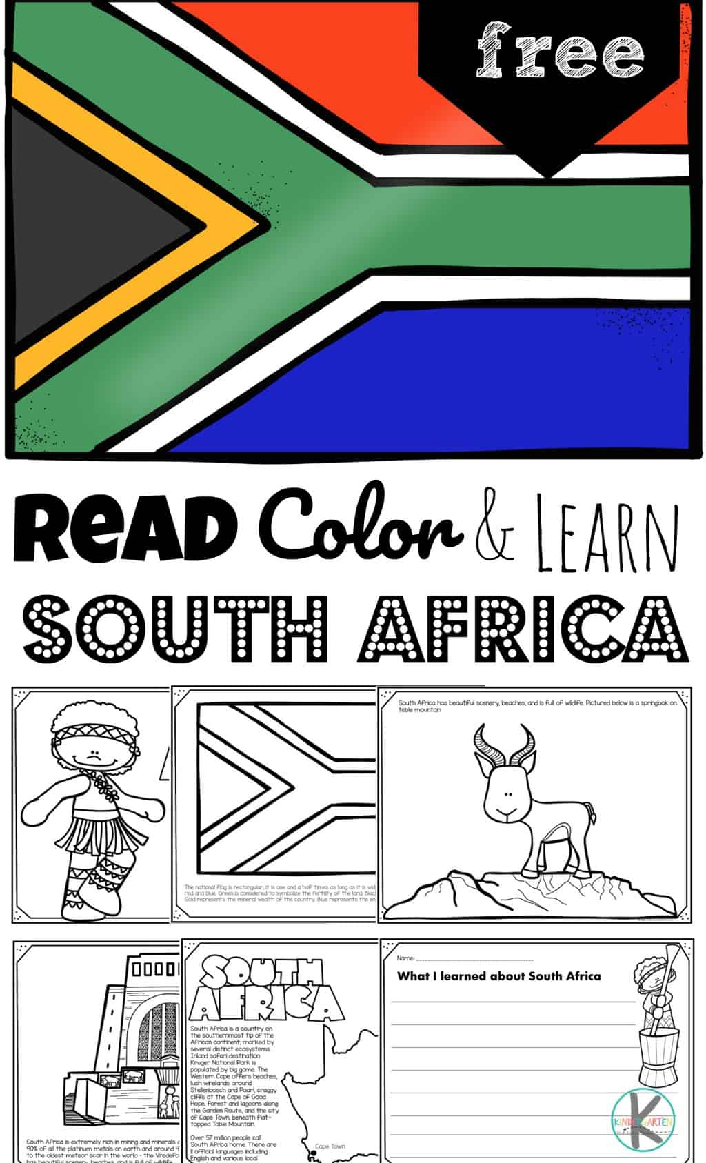 hight resolution of FREE Read Play and Learn about SOUTH AFRICA