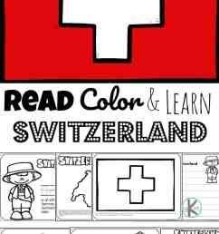 FREE Read Color and Learn about SWITZERLAND [ 1687 x 1024 Pixel ]