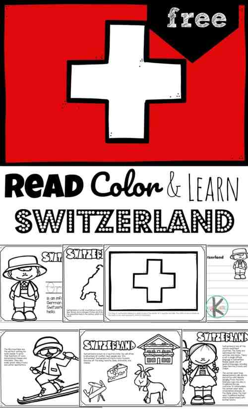 small resolution of FREE Read Color and Learn about SWITZERLAND