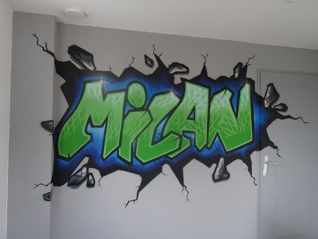 Graffiti kinderkamer  Kinderkamer GraffitiKinderkamer