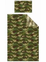Dekbedovertrek Camouflage Eenpersoons leger soldaten set