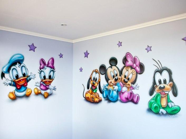 Disney Baby's muurschildering