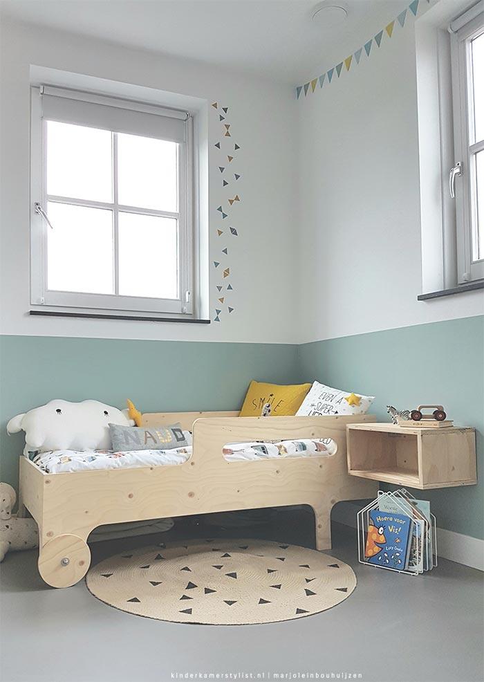 Peuter slaapkamer jongen  Kinderkamerstylist