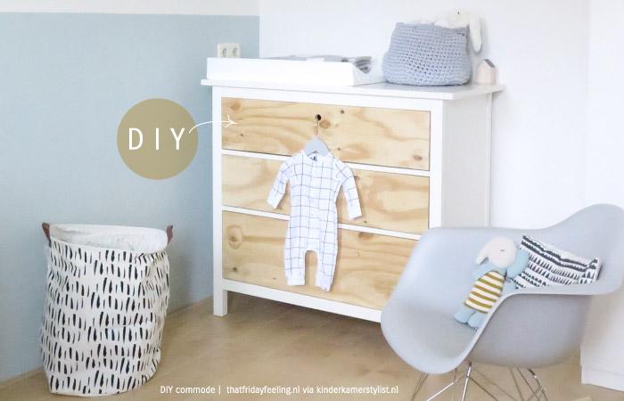 DIY commode  Kinderkamerstylist