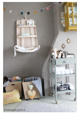 Commode babykamer  Kinderkamerstylist