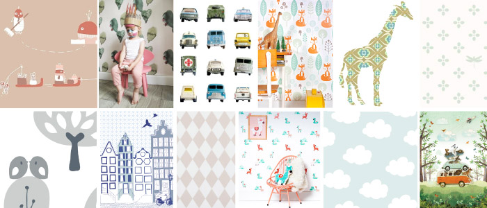 Favoriete Merken Kinderkamer Behang