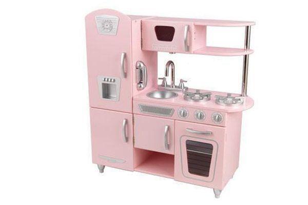 Home Roze Vintage keukenKinderkeukennl