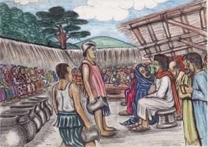 Kamerun-Bilder Hochzeit zu Kanaan