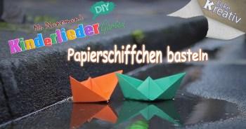 Papierschiff falten - Origami