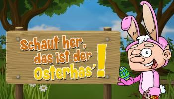 Schaut her, das ist der Osterhas' :: Lustiges Kinderlied zu Ostern