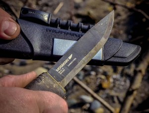 Mora Bushcraft black Survival
