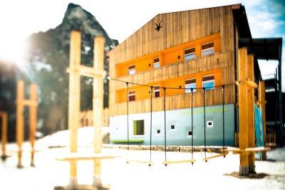 Neue Jugendherbergen braucht das Land! Modernes Design und hochwertige Ausstattungen für Familien erwarten Euch.  Foto (c) Deutschen Jugendherbergswerk
