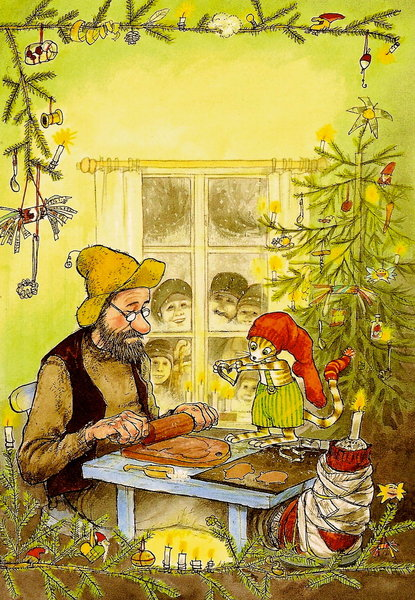 Findus And Pettson At Christmas