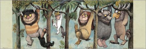 Wilde Kerle von Maurice Sandak Poster im Kinderpostershop ...
