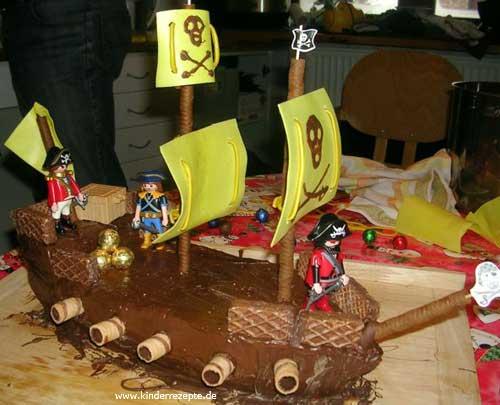 Rezept Piratenschiff  kinderrezeptede