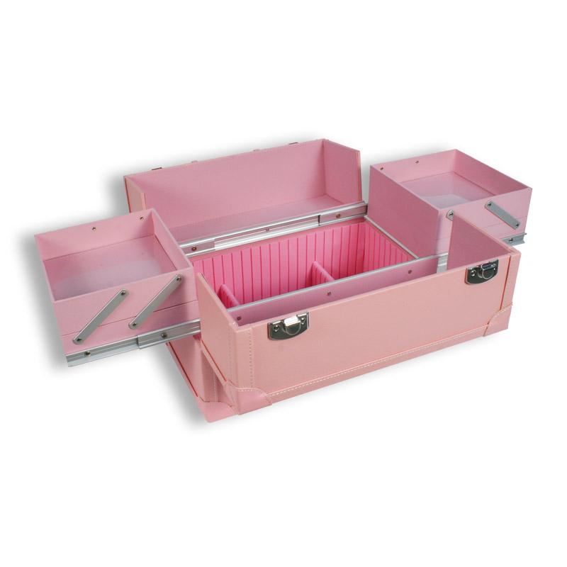 Kosmetikkoffer Friseurkoffer Las Vegas pink Luxus Beautycase Schminkkasten  eBay
