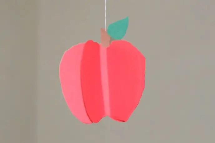 Apfel basteln  KinderspieleWeltde