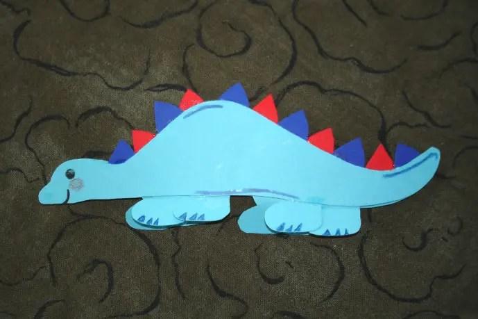 Dinosaurier basteln  KinderspieleWeltde