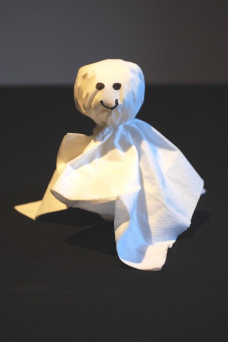 Taschentuchgespenster basteln  KinderspieleWeltde