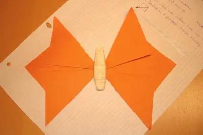 Schmetterlinge basteln  KinderspieleWeltde