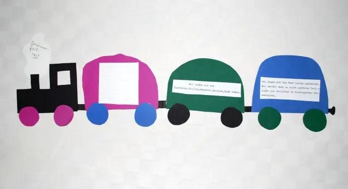 Eisenbahn basteln  KinderspieleWeltde